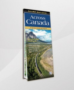 Across Canada Railway Map Guide