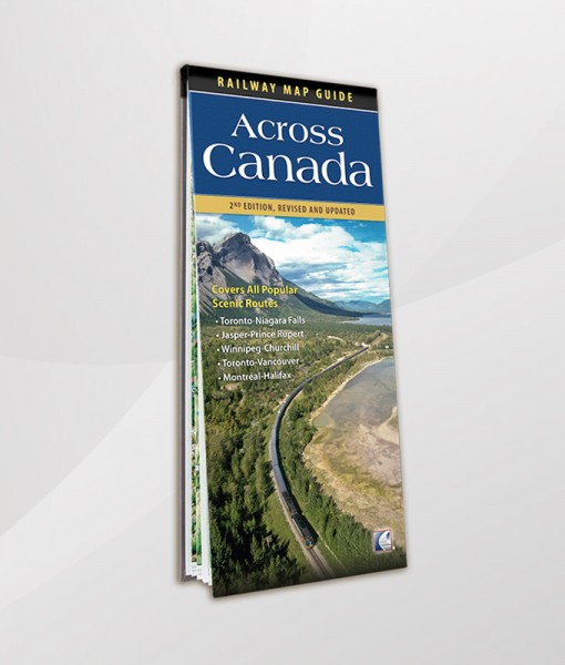 Across Canada Railway Map