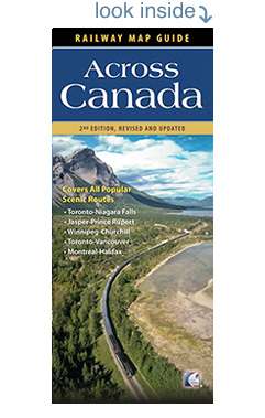 Preview Railway Map Guide Across Canada