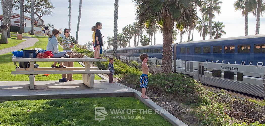 Pacific Surfliner Amtrak Train Travel Guide