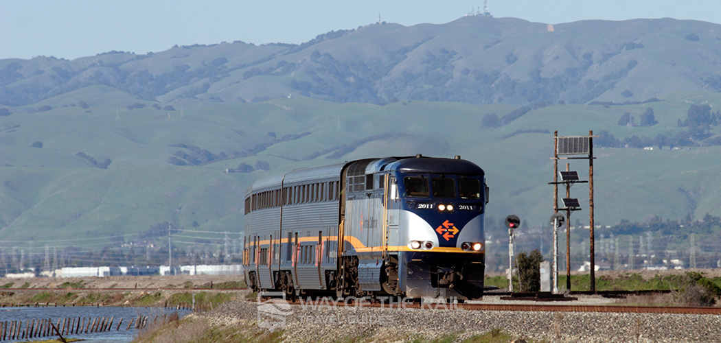 Capitol Corridor Amtrak Train Travel Guide