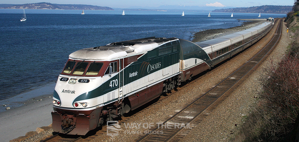 Cascades Amtrak Train Travel Guide